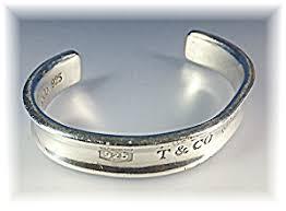 cuff bracelet tiffany images Bracelet sterling silver tiffany cuff 1997 jewelry silver at jpg