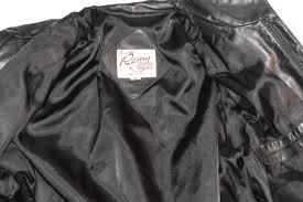 leather apparel vintage remy black leather jacket classic vintage apparel