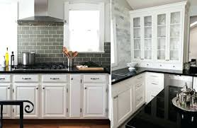 Pictures Of Kitchens With White Cabinets And Black Countertops White Cabinets Black Countertop Abundantlifestyle Club