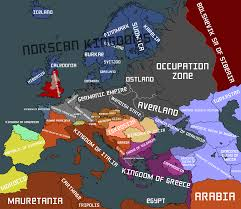 Ww2 Europe Map Image Fake Map Of Europe After Ww2 Png Thefutureofeuropes Wiki