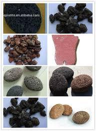 black garden lava stone volcanic rock pumice stone for decoration