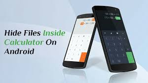 hide files android how to hide files photos inside calculator on android