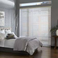 2 Inch White Faux Wood Blinds 2 5 Faux Wood Blinds Blinds The Home Depot
