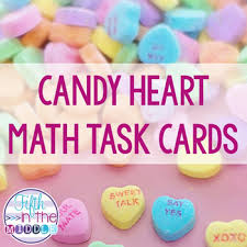 valentines day candy hearts s day candy heart multiplication division decimal