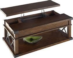 flip top coffee table loon peak fusillade lift top coffee table reviews wayfair