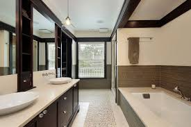 Modern Master Bathroom Designs Modern Master Bathroom With Frameless Showerdoor Limestone Tile