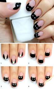 best 25 nail art noir ideas on pinterest vernis noir black
