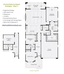 3 bedroom 2 bath 2 car garage floor plans floor plans u0026 elevations the foothills at carlsbad