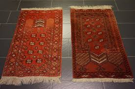2 x old afghan prayer u0027s rug orient carpet made in afghanistan 75 x