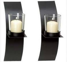 Flameless Candle Wall Sconce Decorative Candle Wall Sconces Decor