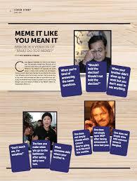 Say What You Meme Game - pressreader bangkok post 2017 06 16 cover story