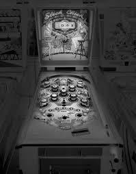 saudade photos of analog pinball machines by michael massaia