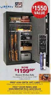 black friday deals on gun safes black friday deal liberty revere lr30 30 gun safe mech lock
