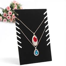 color necklace display images China black white color acrylic jewelry necklace display stand jpg