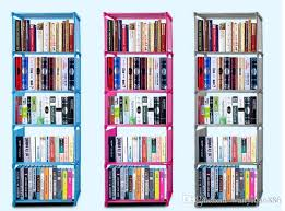 6 Bookcase 2017 Wholeslae Single Row 6 Layer 5 Multilayer Composite Bookcase