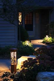 Landscape Bollard Lights Outdoor Landscape Lighting Decorative Steel Bollard Light Www
