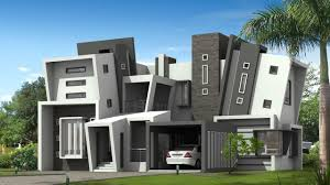 luxury modern home exterior designs blueprint of a house