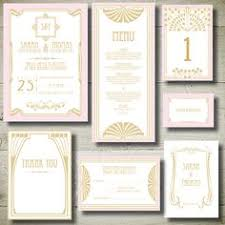 gatsby wedding invitations the great gatsby gold foil sting by luxuryweddinvitation