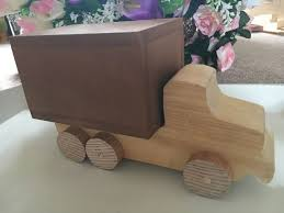 How To Build A Wood Toy Chest by How To Make A Wooden Toy Truck 7 Steps With Pictures