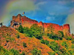Vlad The Impalers Castle by Panoramio Photo Of Poenari The Real Castle Of Vlad Iii The