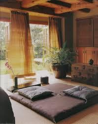 chambre japonaise fair chambre japonaise ensemble rideaux sur deco meditation