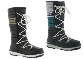 womens boots quilted moon boots we quilted womens waterproof ski warm winter boots