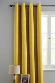 Home Design Online Shop Uk by Buy Ochre Plain Blackout Eyelet Curtains From The Next Uk Online