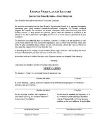 Income Verification Letter Sle Sample Proof Of Employment Letter Forms And Templates Fillable