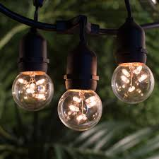 Outdoor Hanging Lights by Bulbrite String15 E26 S14kt 48 Ft Outdoor Incandescent String