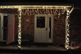 halloween icicle lights green front door light meaning house and surroundings image of