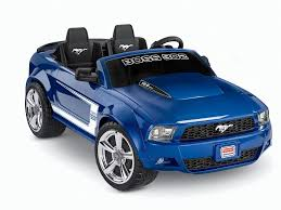 blue mustang power wheels mustang 302 12 volt ride on blue toys r us