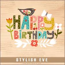 design inspirations stylish and cute happy birthday cards