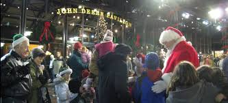 market commons tree lighting ceremony the lighting on the john deere commons saturday november 19th 2016