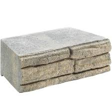 Interior Stone Veneer Home Depot by 7 In X 12 In Natural Impressions Flagstone Concrete Wall Block