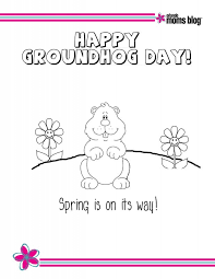 10 sweet stories groundhog printables