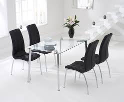 Glass Dining Table Sets Dining Room Table Best White Marble Top Dining Table Designs