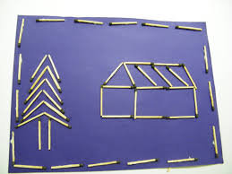 how to make a matchstick picture kids crafts u0026 activities kids