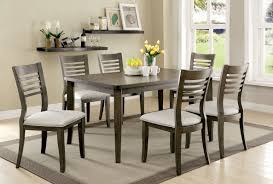 red barrel studio coleraine 7 piece dining set u0026 reviews wayfair
