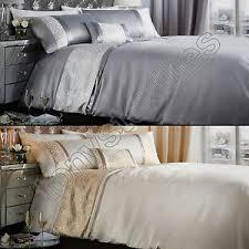 Catherine Lansfield Duvet Set Catherine Lansfield Luxor Jacquard Bedding Quilt Duvet Cover Set
