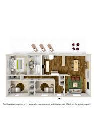 Bedroom Design Measurements Bedroom 3 Bedroom Apartments In Tulsa Artistic Color Decor