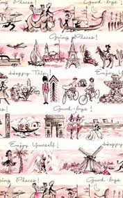 eiffel tower wrapping paper cavallini pink wrapping paper gift wrap designer paper