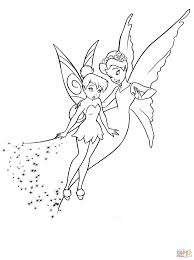shy tinkerbell queen clarion coloring free printable