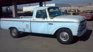 Ford Ranger With Truck Camper - 1966 ford f 250 camper special