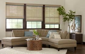 image of image elegant bamboo roman shades design frost gray