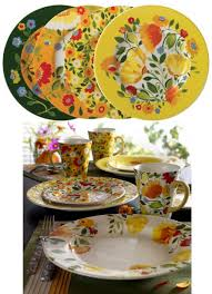 spode buttercup faire casual dinnerware