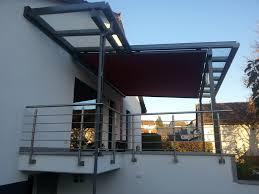 balkon vordach klein metalldesign balkone