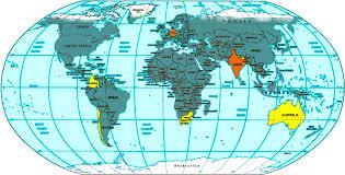World Map Korea Tahiti On World Map Besttabletfor Me