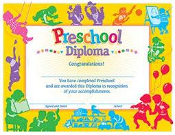 preschool diploma classic diploma preschool 30 pk childcare