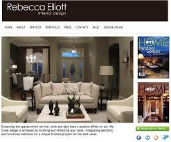 home interiors website designs design ideas