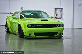 badass challenger liberty walk muscle what do you think speedhunters